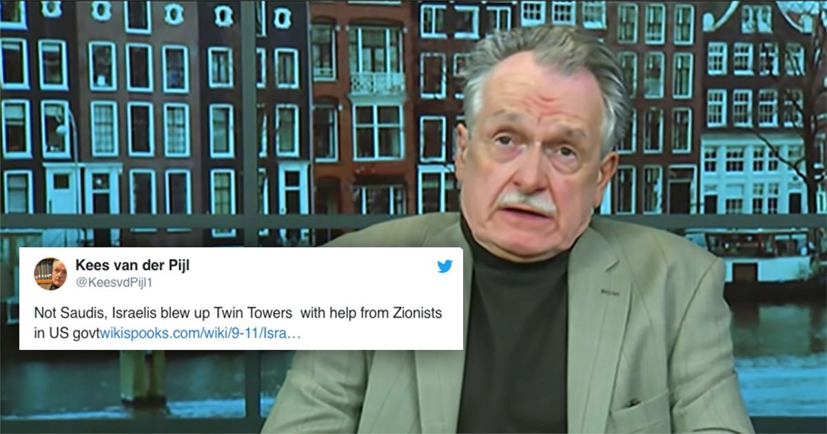 Sussex University investigates professor who claims Israel was behind 9/11 Twin Towers attacks 'with help from Zionists in US government'