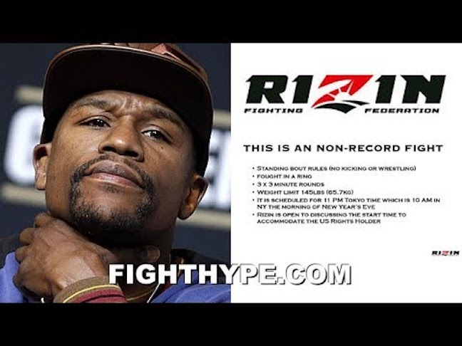 MAYWEATHER RIZIN BOUT PROPOSAL LEAKED; REVEALS DETAILS THAT CAUSED CANCELLATION