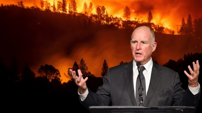 California Gov. Jerry Brown Rejected Wildfire Management Bill In 2016 | #CaliforniaFires