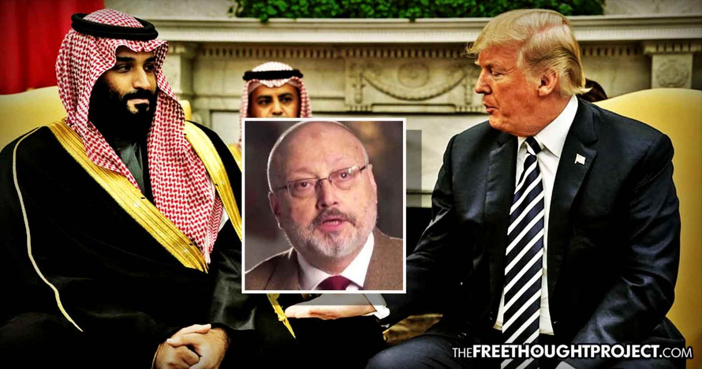 "CIA Has ""Smoking Gun Phone Call"" Of MbS Giving Order To ""Silence"" Khashoggi and Trump Dismisses It: Report"