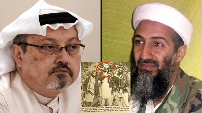 WikiLeaks: Jamal Khashoggi Was 'Close Friend of Osama Bin Laden'. George Papadopoulos: Khashoggi was a key player in the Russiagate scandal.