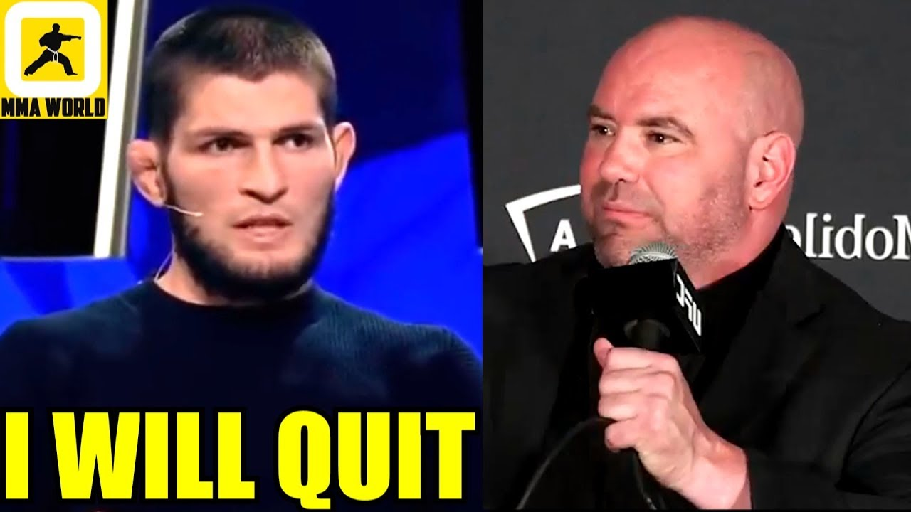 Khabib is going to give up his whole fighting career and just quit if teammate is cut, Perry