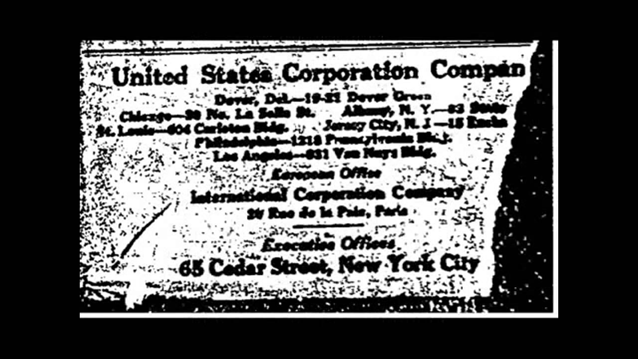 The Act of 1871 that turned the USA into a CORPORATION thus enslaving it!
