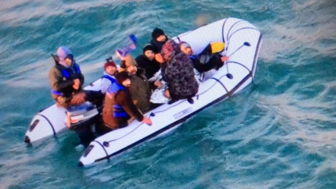 Five migrant boats rescued in English Channel