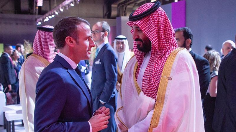 'You never listen to me': Macron meets MBS on G20 sidelines
