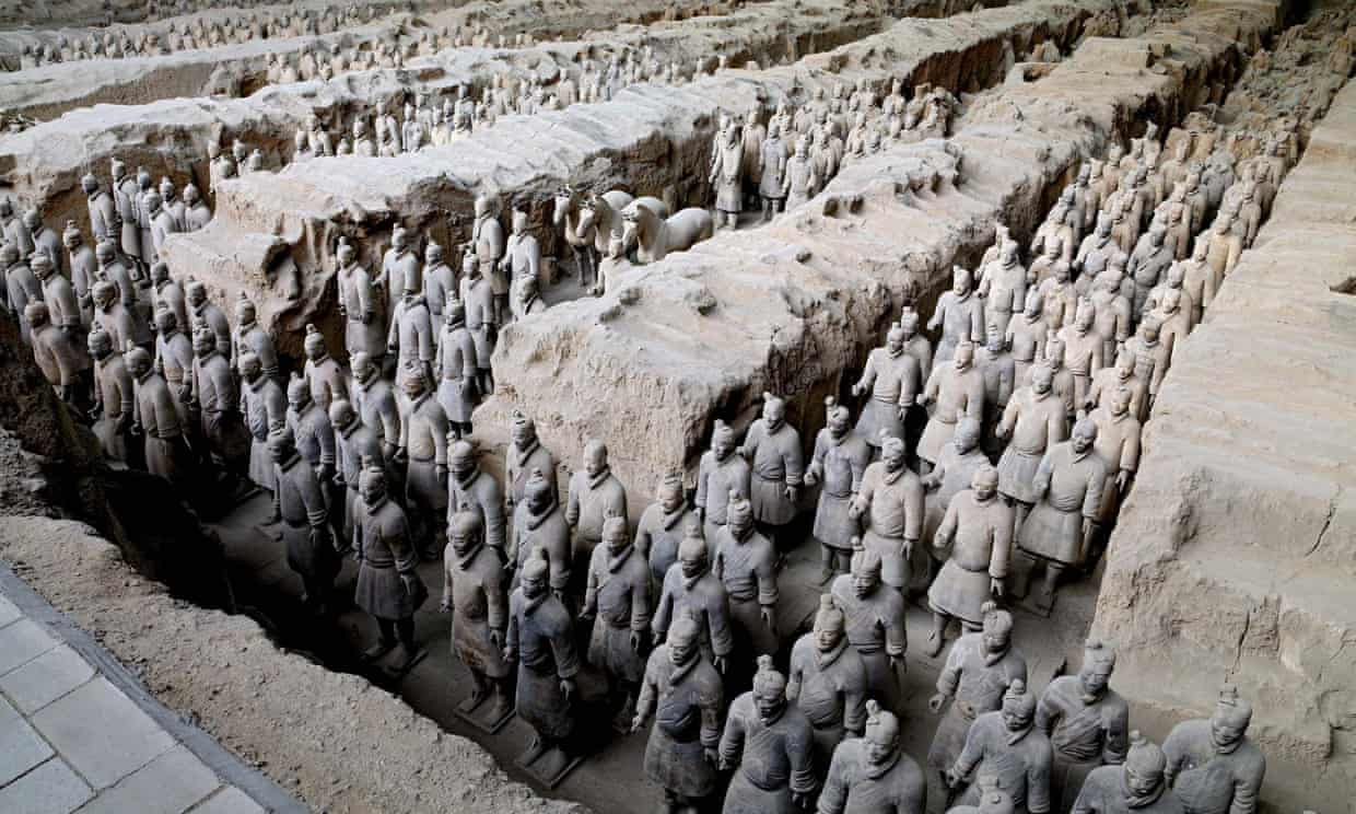 Ancient Greeks 'may have inspired China's Terracotta Army'