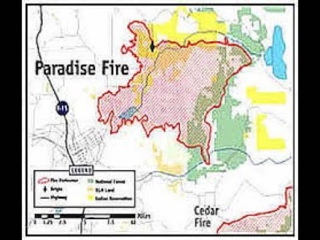 PARADISE INCINERATED FOR GOLD AND MINERAL RIGHTS-URGENT MESSAGE TO RESIDENTS AND RELATIVES