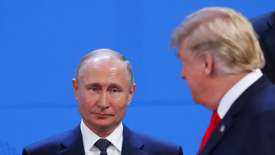 How Trump & Putin ignored each other at G20 in PHOTOS