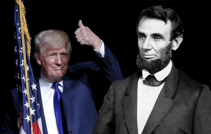 Trump a distant cousin of…ABRAHAM LINCOLN! This is The End Game! Trump is their plan you either get it or you don't!