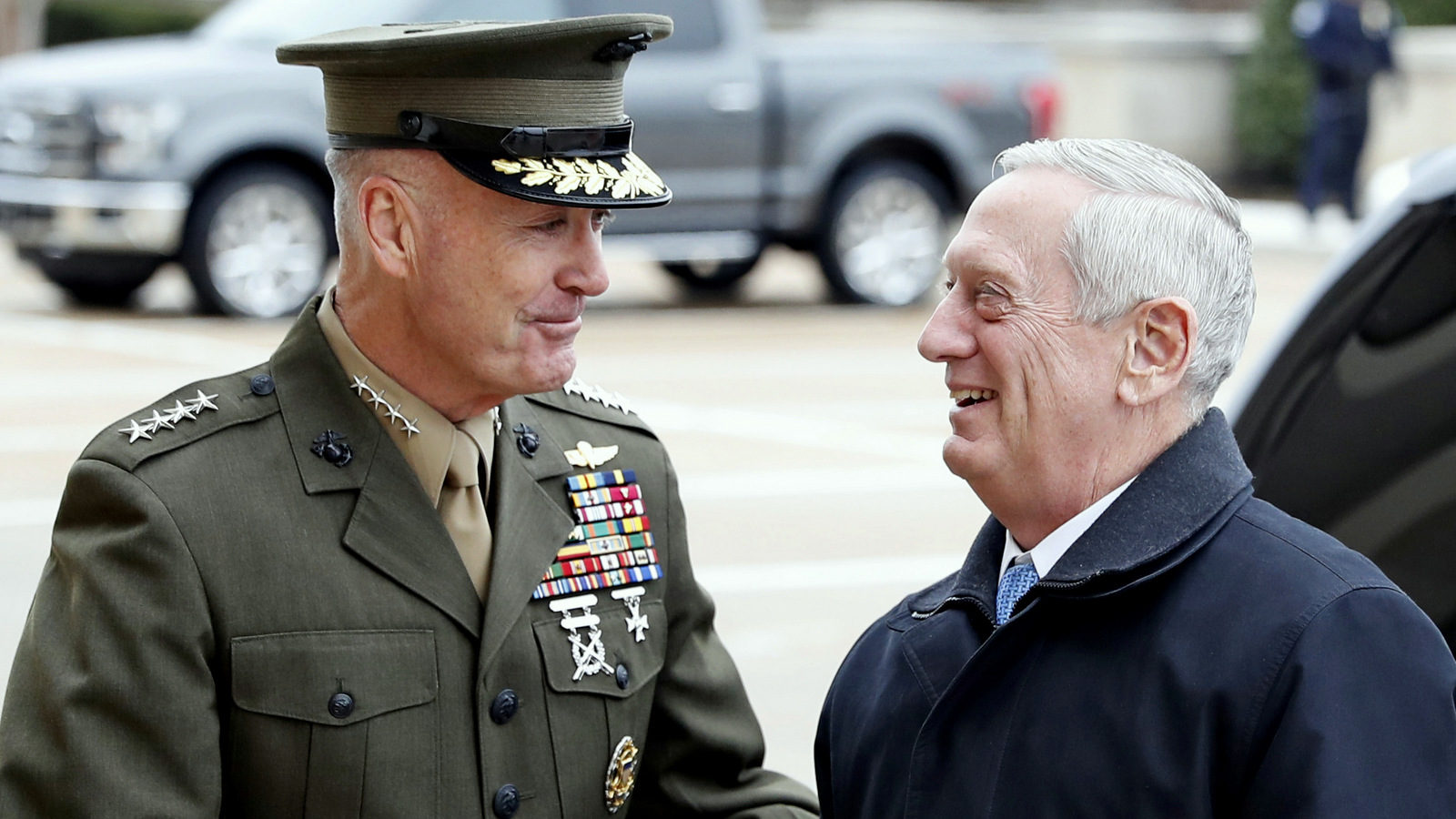 """James Mattis steps down as Defense Secretary! """"We must advance and international order"""" he says!"""