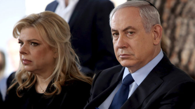 Police Recommend Bribery Charges Against Israeli PM Netanyahu & Wife