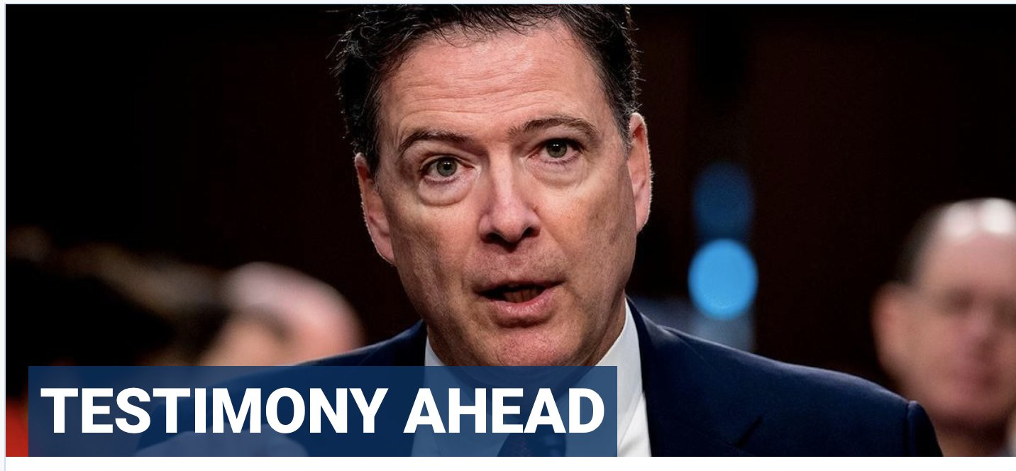 Comey drops legal challenge to House GOP subpoena, will testify on Trump, Clinton probes