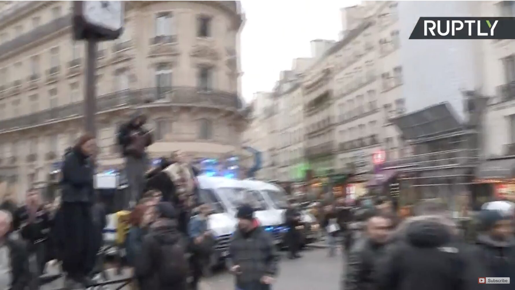 Students take to the streets of Paris to protest against new education fees
