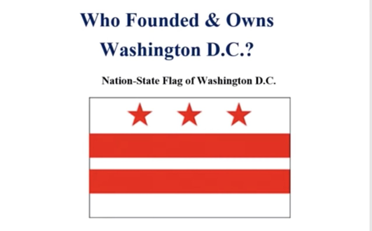 Who Founded and Owns Washington D.C. , USA | THE UNITED STATES CORPORATION