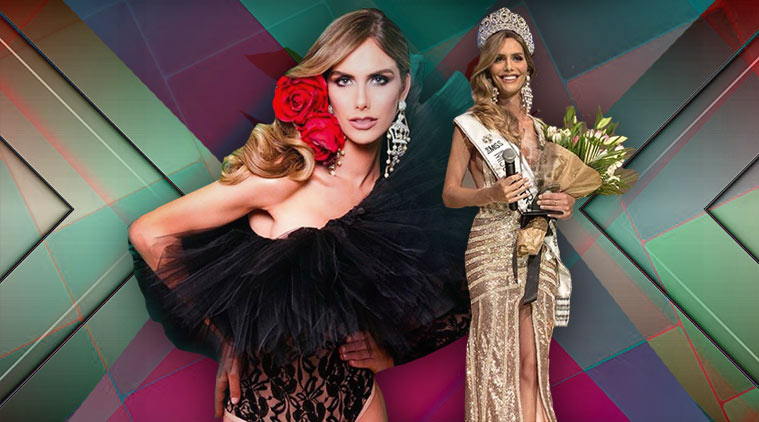 Miss Spain's Angela Ponce made history FIRST MAN in Miss Universe pageant all part of the agenda!