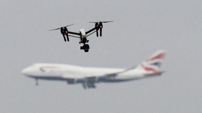 ISIS Issues Drone Bomb Warning Following London Airport Scare