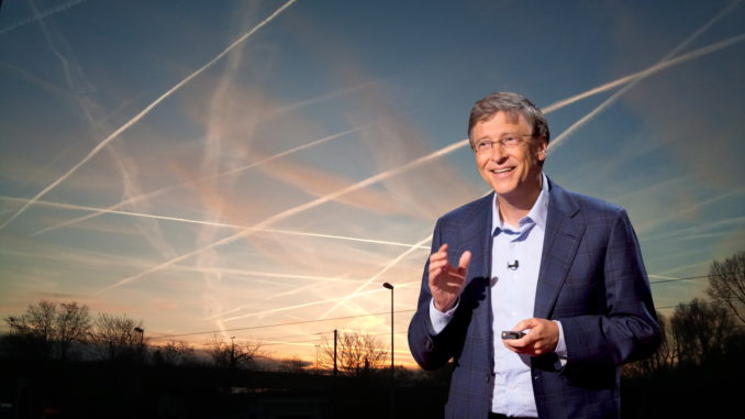 Bill Gates Announces Plans To Use 'Chemtrails' to 'Solve Global Warming'