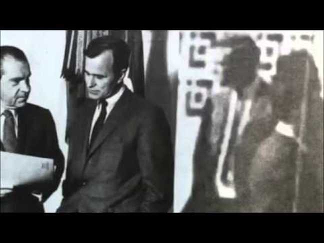The truth about former president George H Walker Bush: He helped MURDER JFK & RFK!!! Live feed of his funeral
