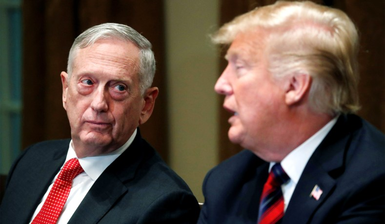 Trump to oust Mattis two months early, announces new acting secretary of defense