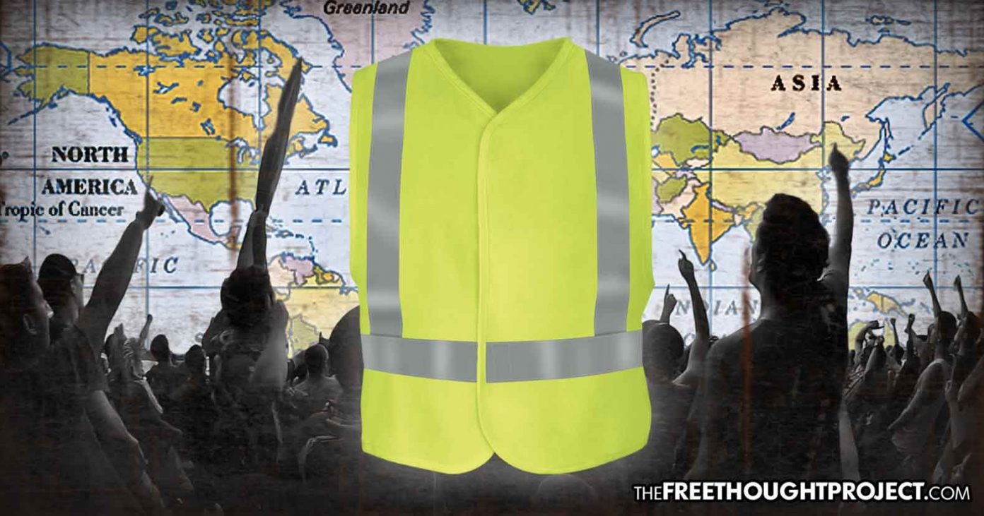'Yellow Vest' Protests Spreading to Other Countries as Citizens Rise Up Against Corrupt Gov't