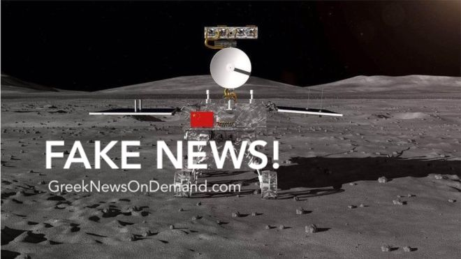 China Moon mission lands Chang'e-4 spacecraft on far side | #FakeNews #FlatEarth