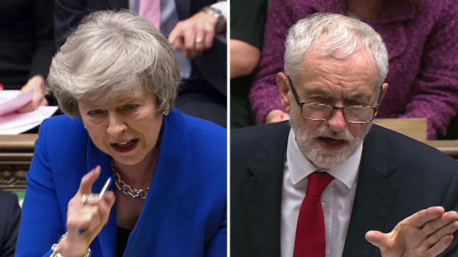 Brexit and no-confidence vote: Corbyn targets 'zombie government'