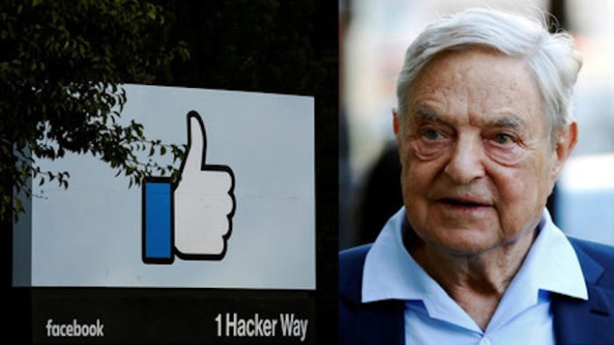 Facebook Hires Soros Organization to Curate Your News Feed