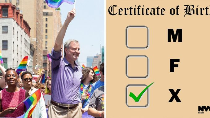 "New Yorkers Can Now Change Their Gender To ""X"" On Birth Certificates"