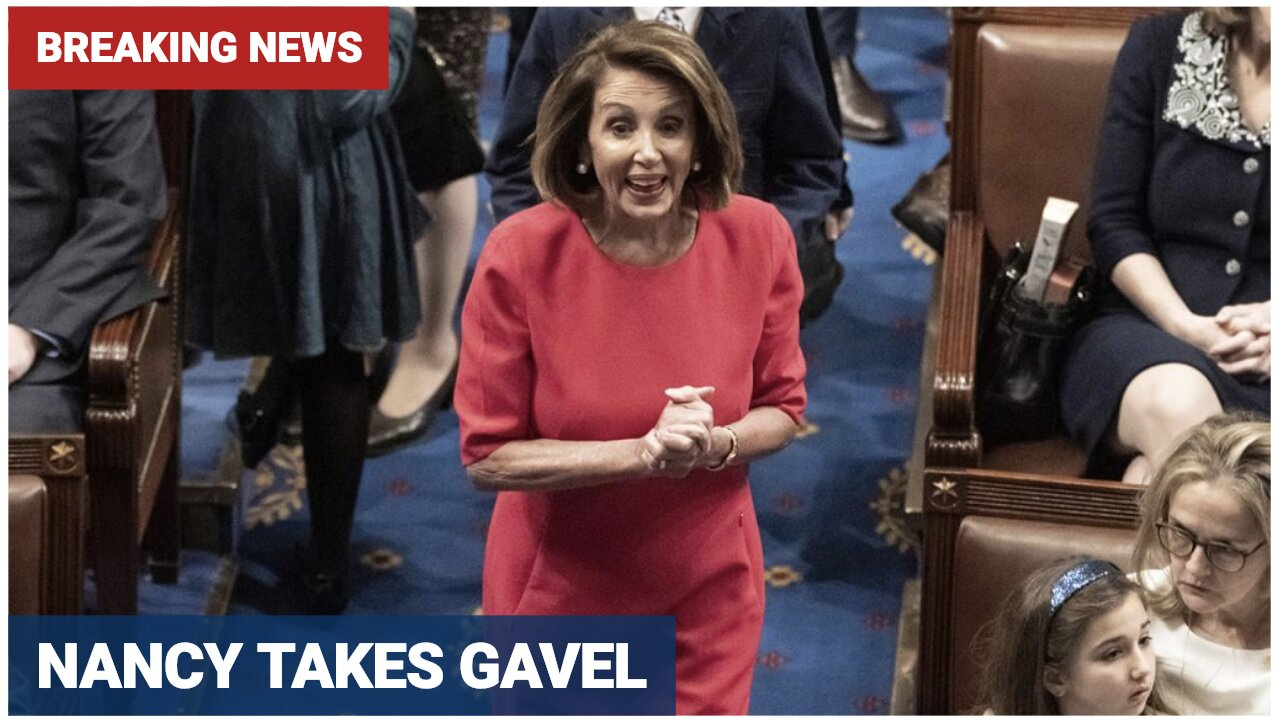 Nancy Pelosi elected House speaker as Dems retake control. She's behind the 9/11 coverup, too!
