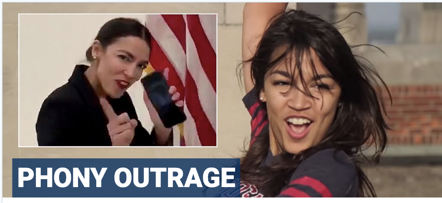 Who manufactured conservative 'anger' over Ocasio-Cortez dance video?