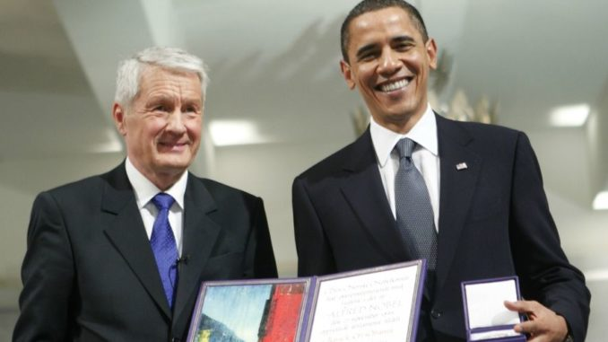 Nobel Chief Says He 'Deeply Regrets' Giving Obama Peace Prize