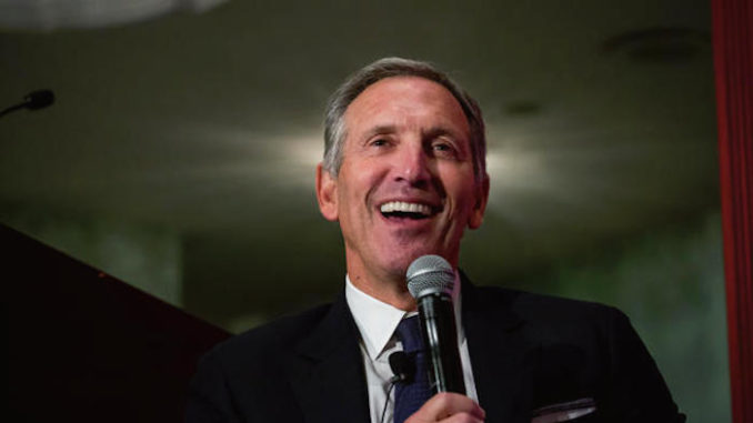 Howard Schultz: USA Belongs to Illegal Immigrants, Not Americans