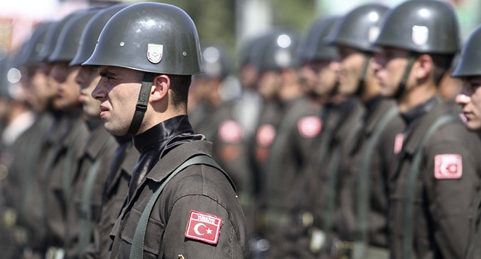 Turkish Occupying Troops Advance Positions in Cyprus