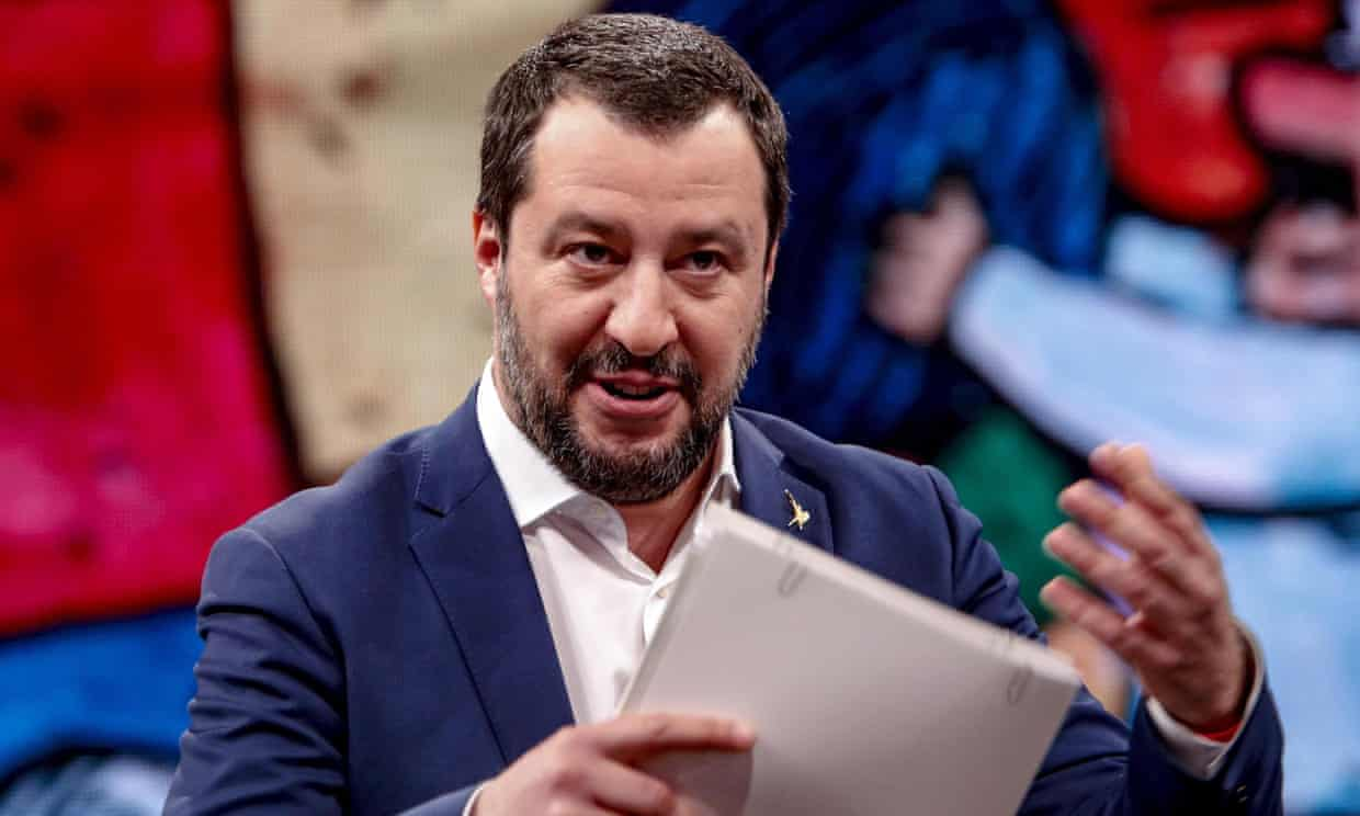 Matteo Salvini makes U-turn on prospect of facing kidnapping trial