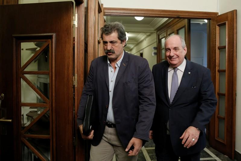 Greek Minister Caught Taking a Puff Tells EU Official to Butt Out