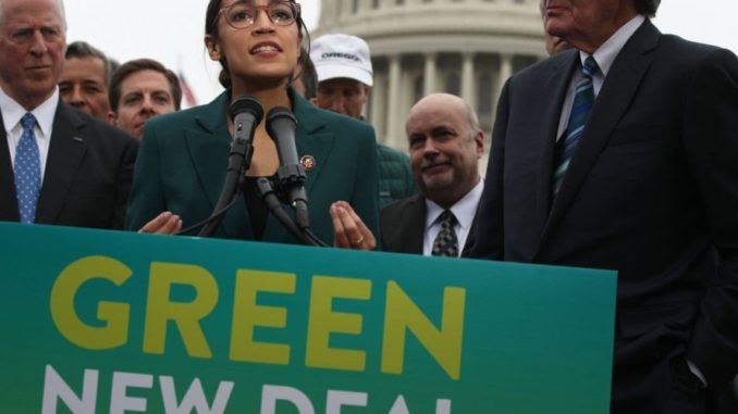 "Ocasio-Cortez Caught Lying to Public; Says 'Green New Deal' from Her Website ""Is Fake"""
