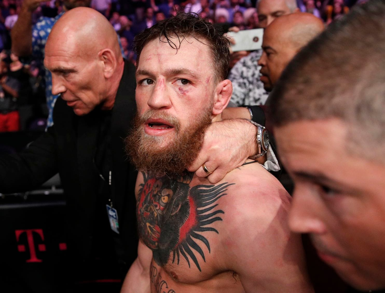 Conor McGregor announces retirement from mixed martial arts
