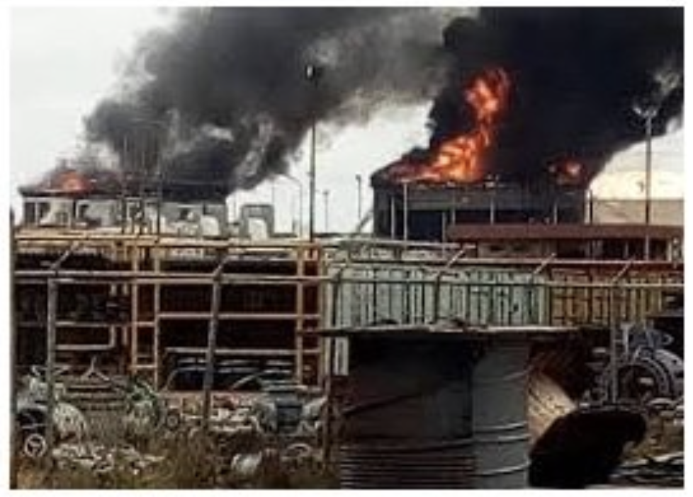BREAKING: Water treatment plants, power, and oil stations all blow up at the same time in #Venezuela