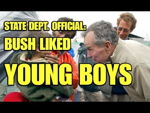State Dept. Official: Bush Liked Young Boys