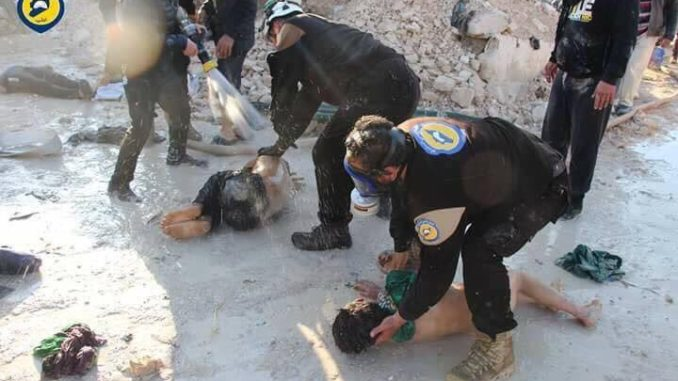 Russia Warns That White Helmets Are Preparing False-Flag Chemical Attacks In Syria