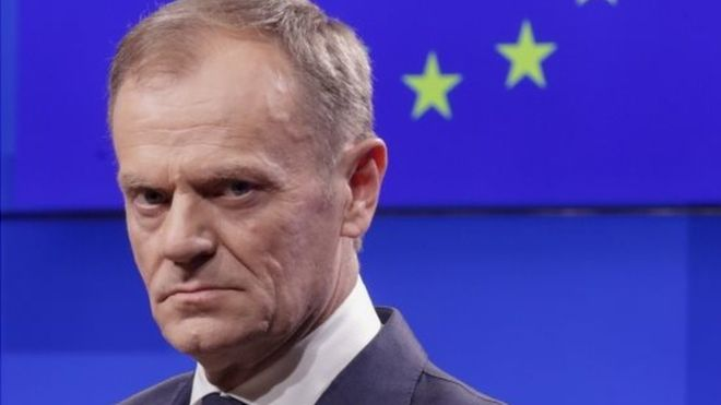 Brexit: Donald Tusk suggests 'flexible' delay of up to a year