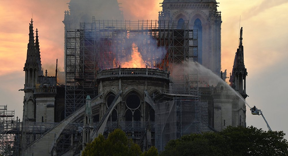 Oy Vey! Rabbi Reportedly Claims Notre Dame Fire May Be DIVINE PUNISHMENT