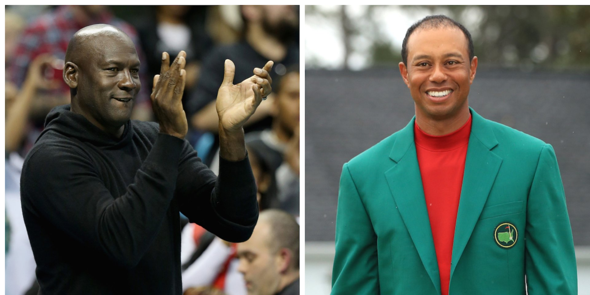 Michael Jordan says Tiger Woods' win at the Masters is the 'greatest comeback' he's ever seen