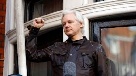 Julian Assange used the embassy as 'center for spying,' Ecuadorian president says