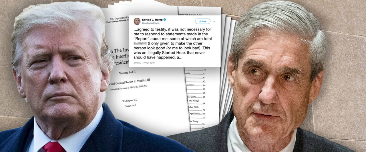 Trump in panic mode. Blasts claims made to special counsel as 'total bull—t' and 'totally untrue'