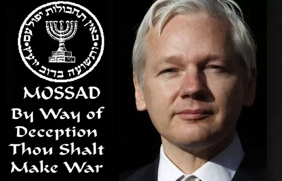 Mossad Agent Assange Finally Kicked out of Ecuadorean Embassy (updated)