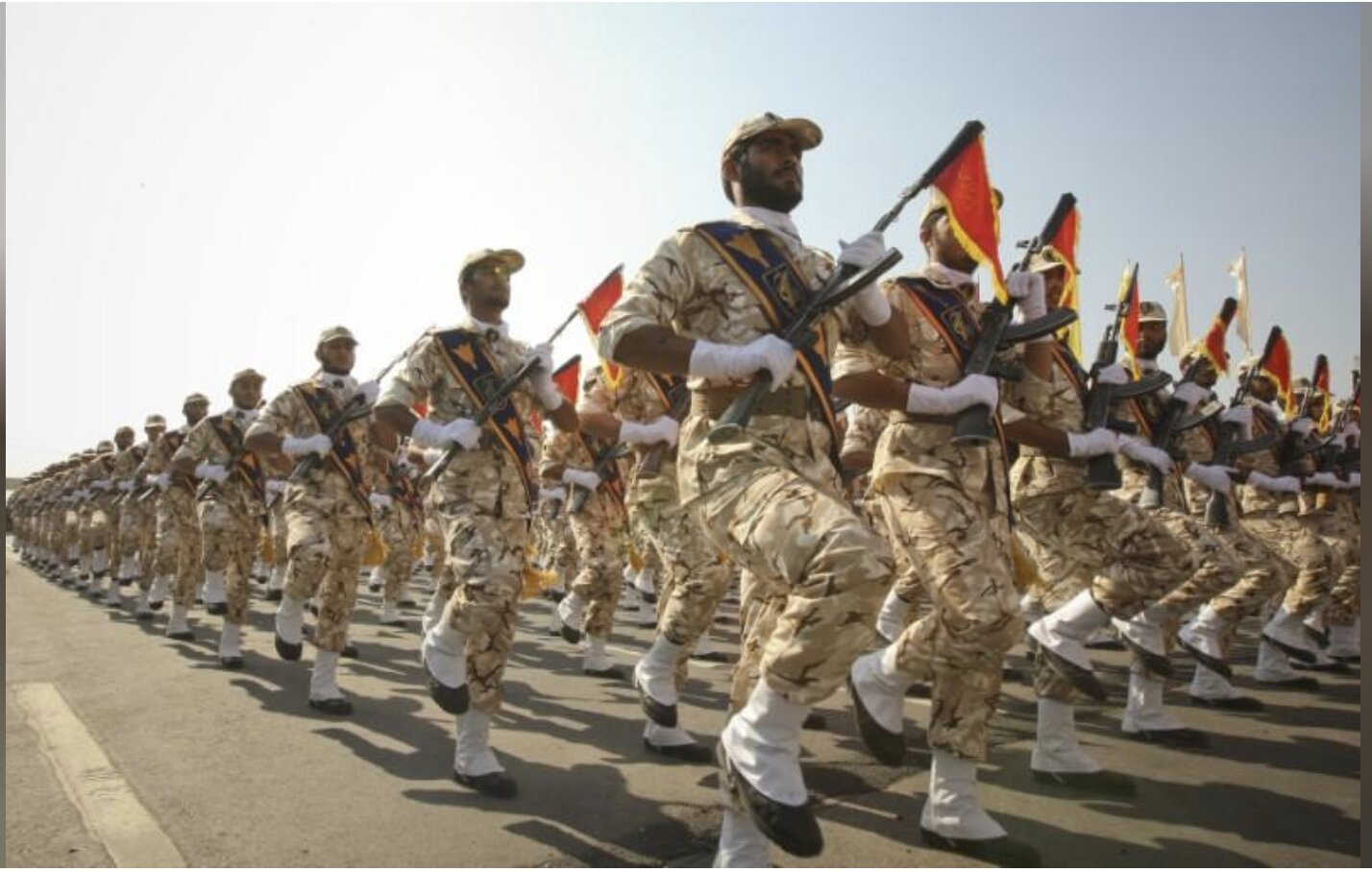 In unprecedented move, U.S. names Iran's Revolutionary Guards terrorist group