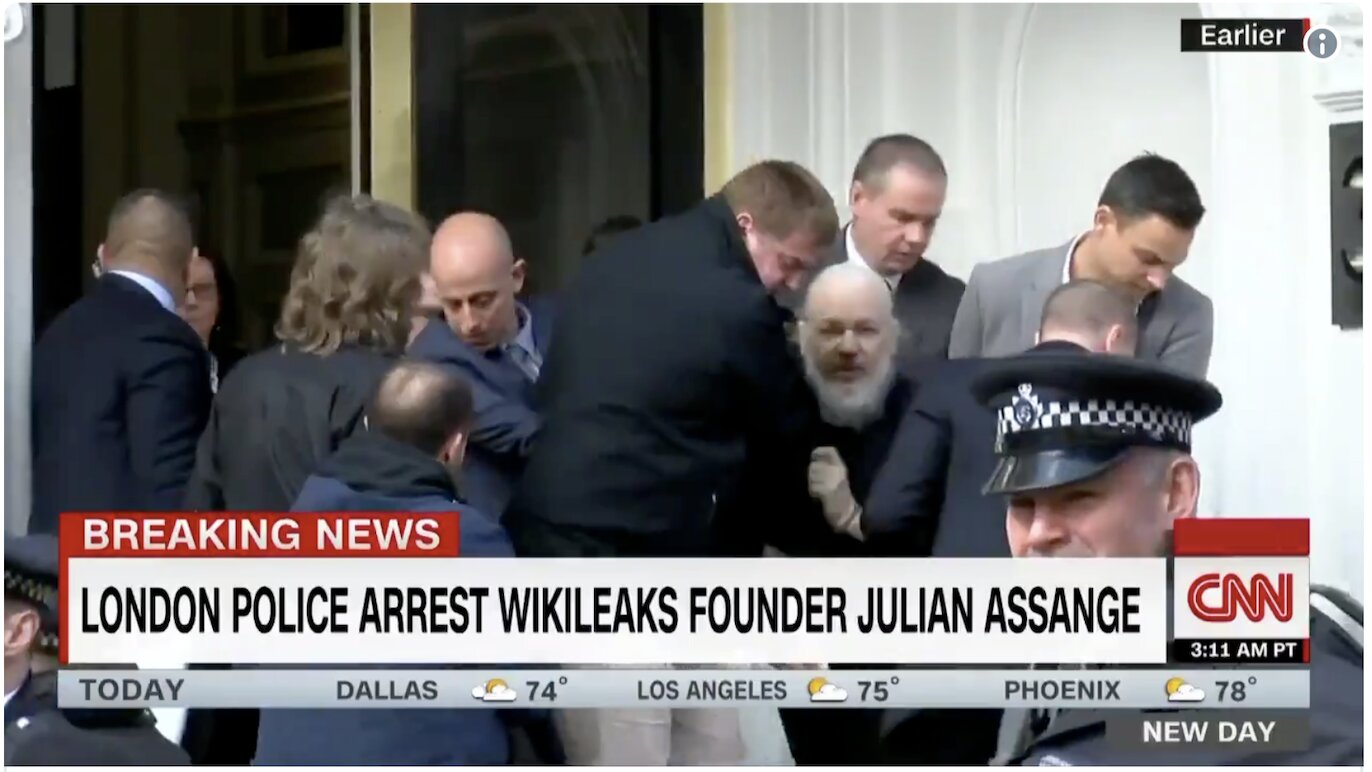 WikiLeaks Founder Julian Assange Arrested And Found Guilty In London