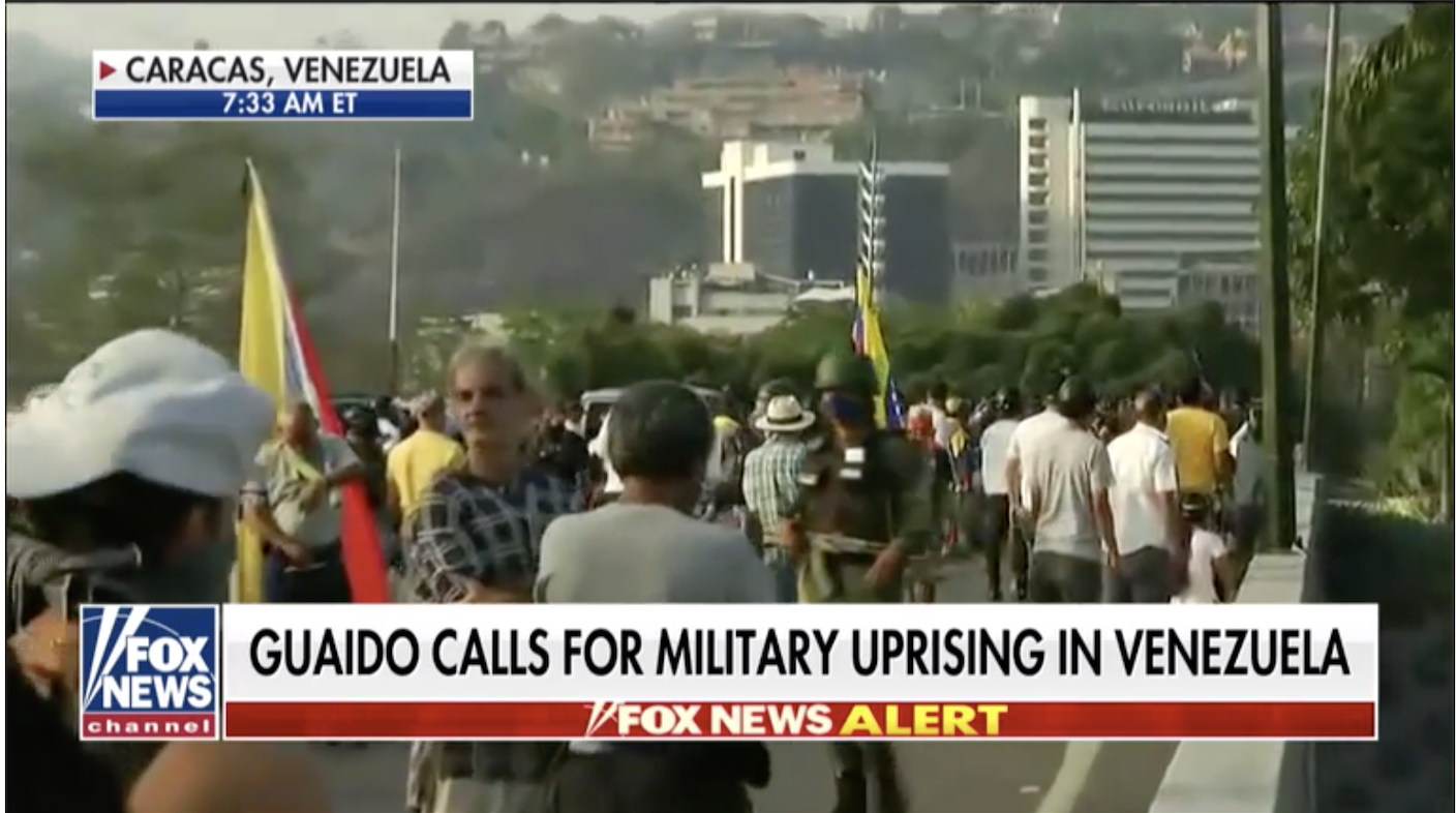 Venezuela's Guaido issues bold call for military to rise up, overthrow Maduro