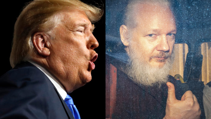 "After Assange's Arrest, Trump Says He Knows Nothing about Wikileaks: ""It's Not My Thing"""